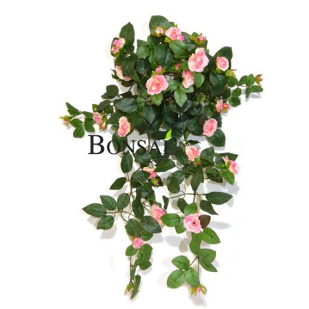 balkonsko cvetje umetne vrtnice plezalke rože za balkon