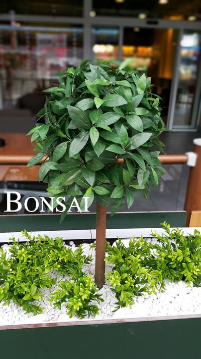 dekoracija poslovnega prostora umetne rastline rože