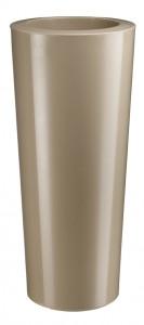 Vaza za rože 80 cm Slim Taupe - Bonsaid