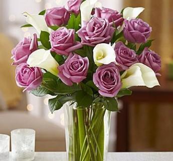 umetne vrtnice bele cale rezano cvetje umetno cvetje