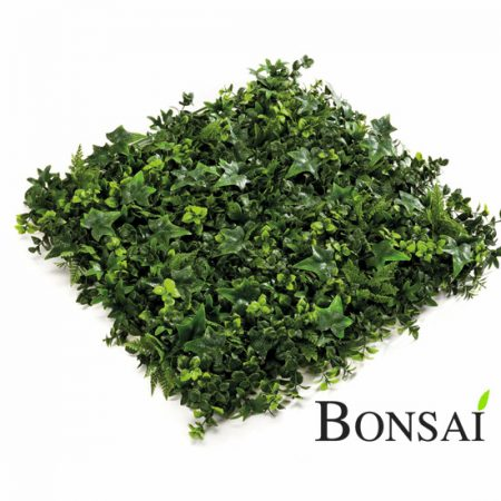 vertikalni vrt zeleni paneli mešani green wall