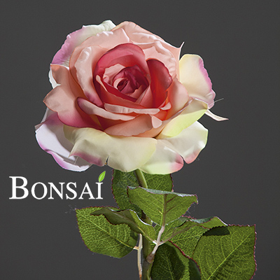 Vrtnica Bogota roza 56 cm - umetno cvetje - okrasno cvetje - umetna vrtnica - roza vrtnica