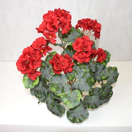 Umetne Geranije - umetna geranija rdeča pelargonija - okrasna geranija