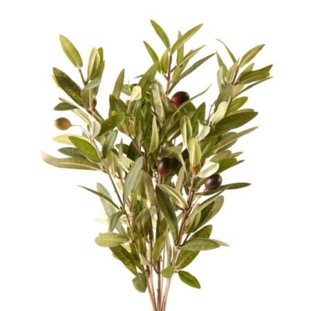 Oljka šopek 36 cm umetne oljke - umetne oljčne vejice - okrasne vejice