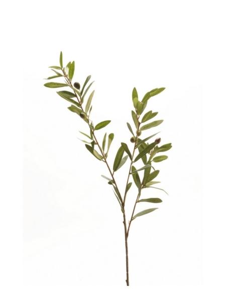 Oljkina veja 82 cm umetna oljkina veja umetna oljka - okrasna oljka - oljka s plodovi - oljkina vejica