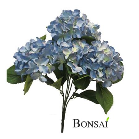 Umetna Hortenzija Umetne Hortenzije - Hortenzija 48 cm - okrasna hortenzija - modra hortenzija - umetna hortenzija