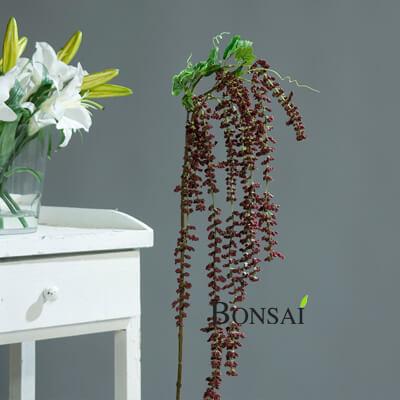 Amarant veja 100cm rdeča - umetna veja - okrasna veja - viseči amarant - viseča veja