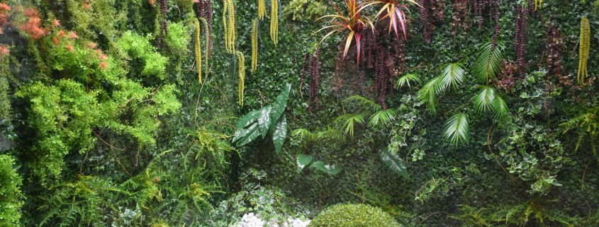 umetne zelene stene - green wall - vertikalni vrt