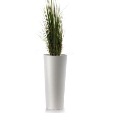 Okrasna trava v slim 70 okrasnem loncu - visoka trava - okrasna trava - umetna trava