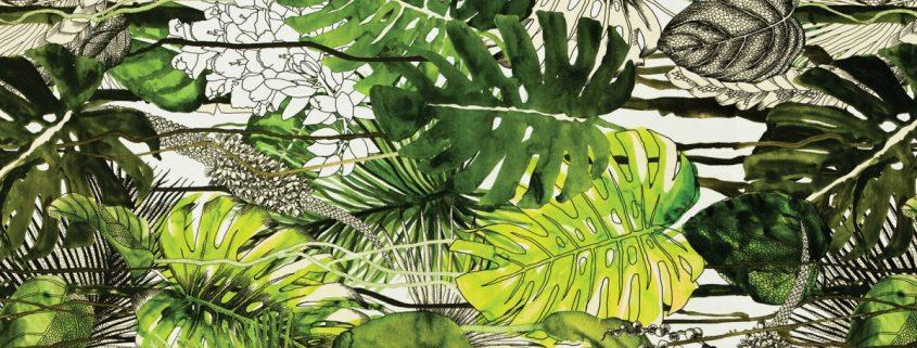 monstera umetne rastline Bonsai