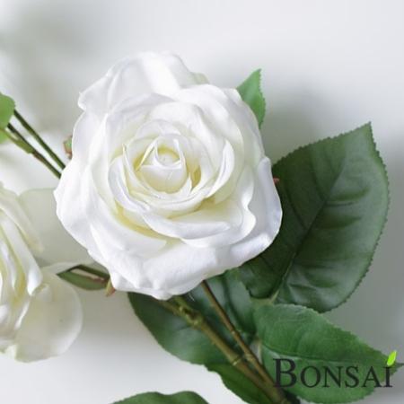 Vrtnica girlanda bela 145 cm - bele vrtnice
