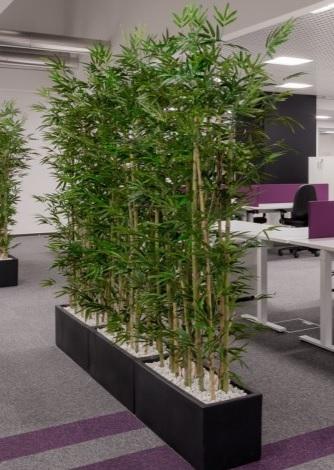 Umetni bambus - pregrada - dekoracija prostora