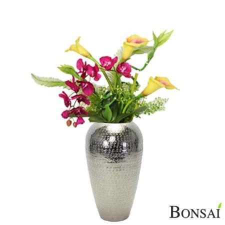Aranžma z orhidejami in kalami 70 cm
