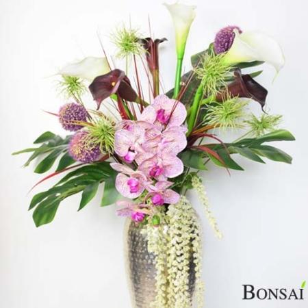Cvelični aranžma 85 cm - cveetlični aranžma - umetni aranžma - umetni šopek - okrasni aranžma