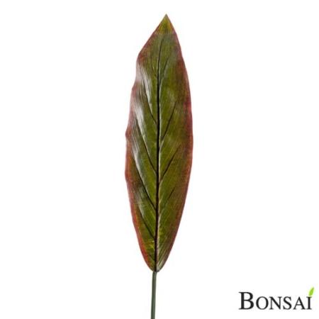 List rdeče zelen 95 cm