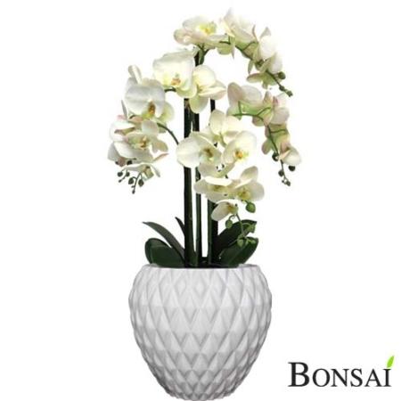 Orhideja RT 60cm v lončku - umetno cvetje - umetno cvijeće