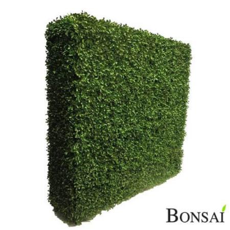 Pušpan umetni - zelena pregrada 100 x 100 x 30 cm