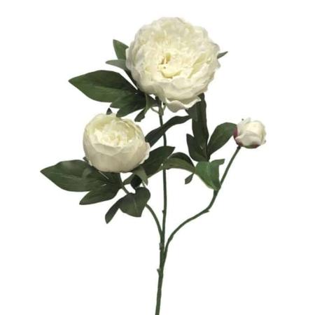 Umetne peonije - Potonke roza - umetno cvetje Bonsai