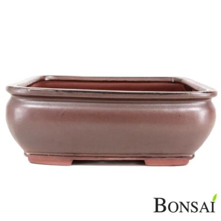 Bonsai posoda glazirana pravokotna 31