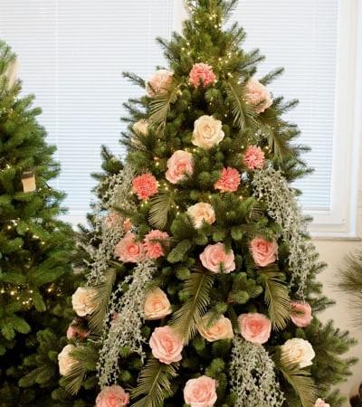 božično drevo - novoletna dekoracija