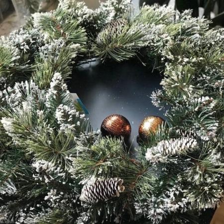 božični venček Bonsai Trzin