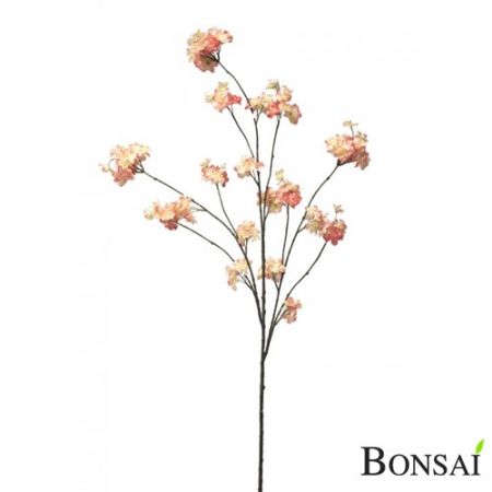 Veja cvetna light pink 125 cm