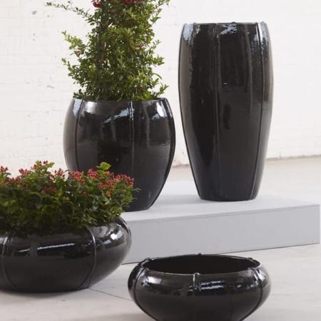 cvetlični lonci glazirani glineni