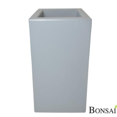 Okrasni lonec Tower 80 x 40 cm beton siva barva