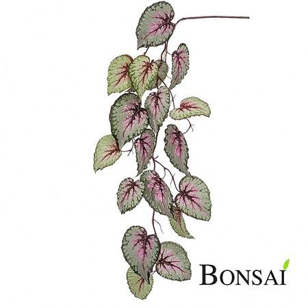 Begonija umetna plezalka 110cm sivo roza