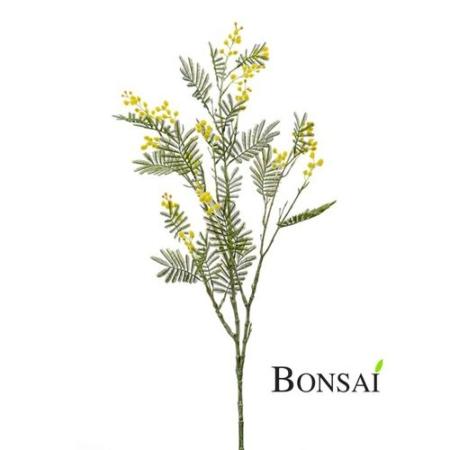 Umetna Mimoza veja rumena 110cm