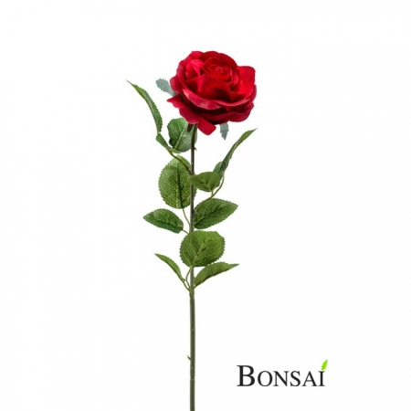 Umetna rdeča vrtnica 65