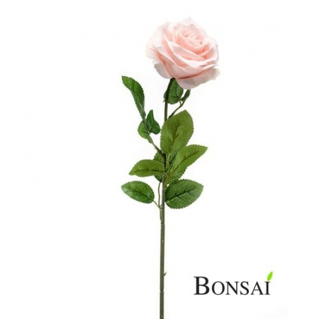 Umetna vrtnica 63cm svetlo roza barva