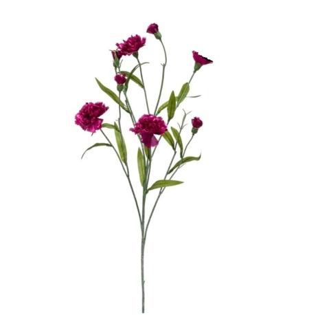 Umetno cvetje - umetni nagelj vijoličasti 70cm