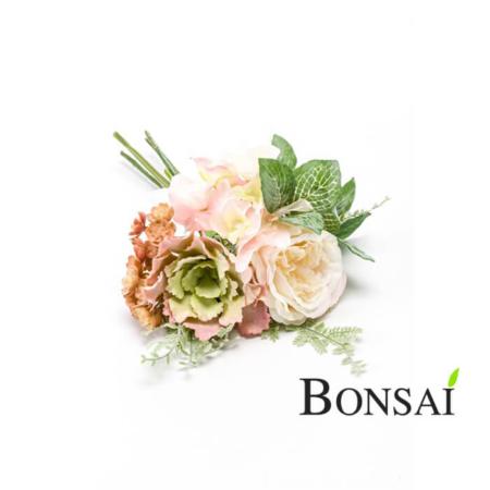Umetni šopek vrtnice mešan 600637