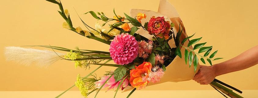 Umetni šopki - šopek rož Bonsai