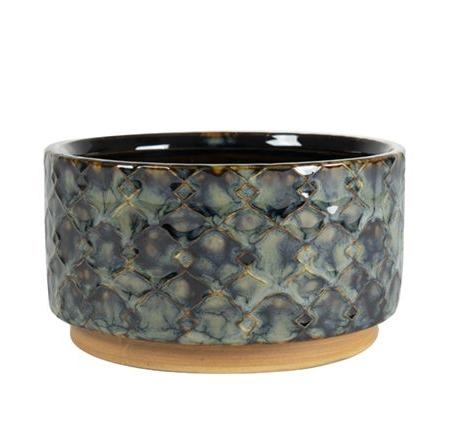 okrasni lonci za rože glineni Bonsai Trzin