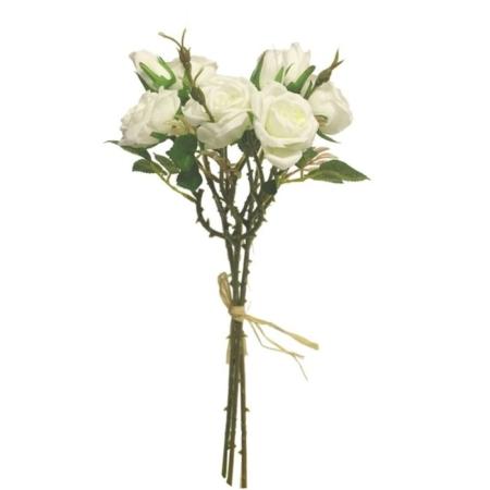 Vrtnica šopek x3 krem barva 30cm